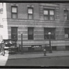 [West Land apartment building; Subway entrance, Policeman, newstand: 723 W. 177th St-Ft. Washington Av, Manhattan]