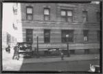West Land apartment building; Subway entrance, Policeman, newstand: 723 W. 177th St-Ft. Washington Av, Manhattan