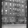 [Tenements & storefronts; Fox's Beauty Shop, Parkway Restaurant: 540 Claremont Av-3rd Av-Fulton Av, Bronx]