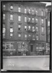 Tenements & storefronts; Fox's Beauty Shop, Parkway Restaurant: 540 Claremont Av-3rd Av-Fulton Av, Bronx
