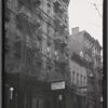 [Tenements & storefronts; Big Diamond Dairy; Italian Rest Spaghetti House: 76 Catherine St-Oak St-Cherry St., Manhattan]