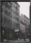 Tenements & storefronts; Big Diamond Dairy; Italian Rest Spaghetti House: 76 Catherine St-Oak St-Cherry St., Manhattan