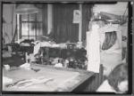 Interior view of tailoring workshop: Manhattan