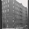 [Apartment building; dental office on first floor for Dr. H. P. Allen?: 45 Eliot Place-Walton Av, Bronx]