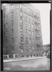 Mayflower apartment building; Low's Dairy & Grocery: Bronx