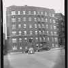 [Apartment building; free-standing traffic light: Macombs Rd-Featherbed Ln, Bronx]