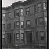 [Brick row houses: 1820-1822 [street unknown], Bronx]