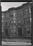 Brick row houses: 1820-1822 [street unknown], Bronx]