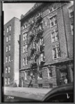 Apartment building; Jeanette's Beauty Shop in first floor apartment: 1088(?) [street unknown], Bronx]