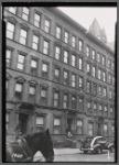 Brownstone tenement row: Manhattan