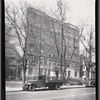 [Apartment building; delivery truck with refrigerator: 612 [street unknown]]