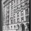 [Beaux arts style apartment building; N.H. Magner Podiatrist, M. Gordin DDS: 2852 Broadway-W 110 St-W111 St?, Manhattan]