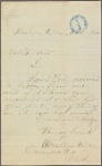 Constituent letters, 1876 November 11-13