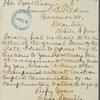 General legislative correspondence, 1876 January - March