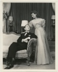 Elliott Nugent and Katharine Hepburn in the stage production Without Love