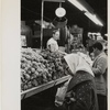 Park Avenue Market - Customers at grape stand, East Harlem