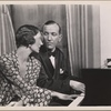 """[Gertrude Lawrence and Noël Coward in the original Broadway production of Noël Coward's """"Private Lives.""""]"""