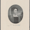 Portrait of Lydia Huntley Sigourney. (From a rare print.) (See page 3.)