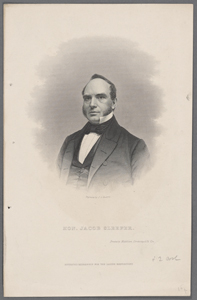 Hon. Jacob Sleeper / engraved by J.C. Buttre ; printed by Middleton, Strobridge & Co. Cin.