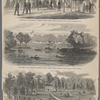 The rebel encampment at Drury's Bluff, James River.--Sketched by Mr. Vizetelly.--(See page 795) ;The rebel Fort Darling on Drury's Bluff, James River.--Sketched by Mr. Vizetelly.--(See page 795) ; Slidell's house in Louisiana.--Sketched by a naval officer--(See page 795).