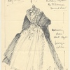 Costume sketch for The Millionairess, May 1952