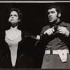 Lesley Ann Warren and Elliott Gould in the stage production Drat! The Cat!