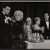Stuart Damon, Hermione Gingold, Paula Stewart, Louise Hoff, and Elliot Reid in the stage production From A to Z