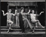 Lizabeth Pritchett and unidentifed others in the 1972 Broadway revival of A Funny Thing Happened on the Way to the Forum