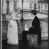 Florence Henderson and Sean Scully in the stage production The Girl Who Came to Supper