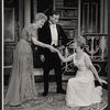 Irene Browne, Jose Ferrer, and Florence Henderson in the stage production The Girl Who Came to Supper