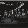 Steve Lawrence and company in the stage production Golden Rainbow