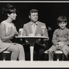 Eydie Gorme, Steve Lawrence, and Scott Jacoby in the stage production Golden Rainbow