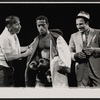 Sammy Davis, Jr. (center) and two unidentified actors in the stage production Golden Boy.
