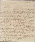 Letter to Gov. George Clinton
