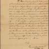 Letter to William Denny
