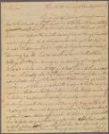 Letter to [Samuel Tucker, Trenton.]