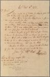 Letter to Richard Cranch, Boston