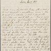 Autograph letter signed to Lord Byron, 17 January 1817