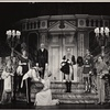 Irene Browne, José Ferrer, Florence Henderson, and Roderick Cook in the stage production The Girl Who Came to Supper