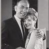 José Ferrer and Florence Henderson in rehearsal for the stage production The Girl Who Came to Supper