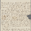 Autograph letter unsigned to Claire Clairmont, 30 January 1817