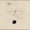 Autograph letter signed to Thomas Jefferson Hogg, 6 February 1817