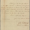Letter to John Lukins