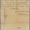 Letter to William and Thomas Bradford [Philadelphia