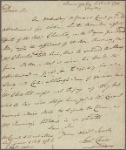 Letter to Andrew Buchanan, Baltimore