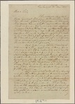 Letter to George Clinton, Governor of New York