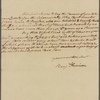 Letter to William Palfrey