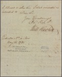 Letter to [Governor George Clinton, N. Y.]