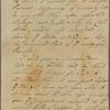 Letter to Jasper Yeates, Lancaster, Penn