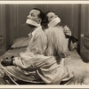 """Gertrude Lawrence and Noël Coward in the original 1936 Broadway production of """"Ways and Means"""" from Noël Coward's play cycle """"Tonight at 8:30."""""""